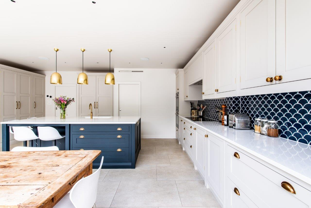 """I am so happy that I used them for my beautiful kitchen and am delighted with the end result."""
