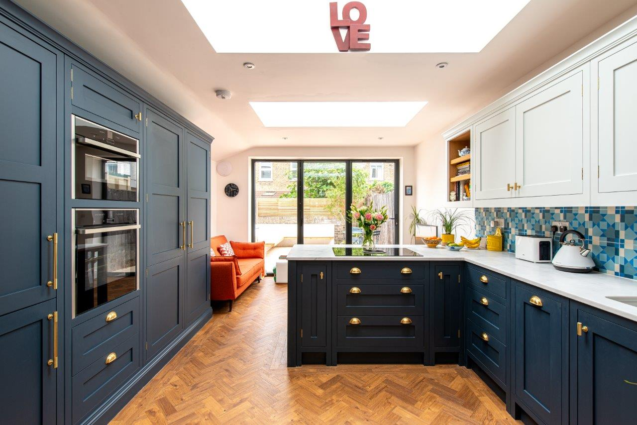 Dulwich Kitchen Herringbone Kitchens