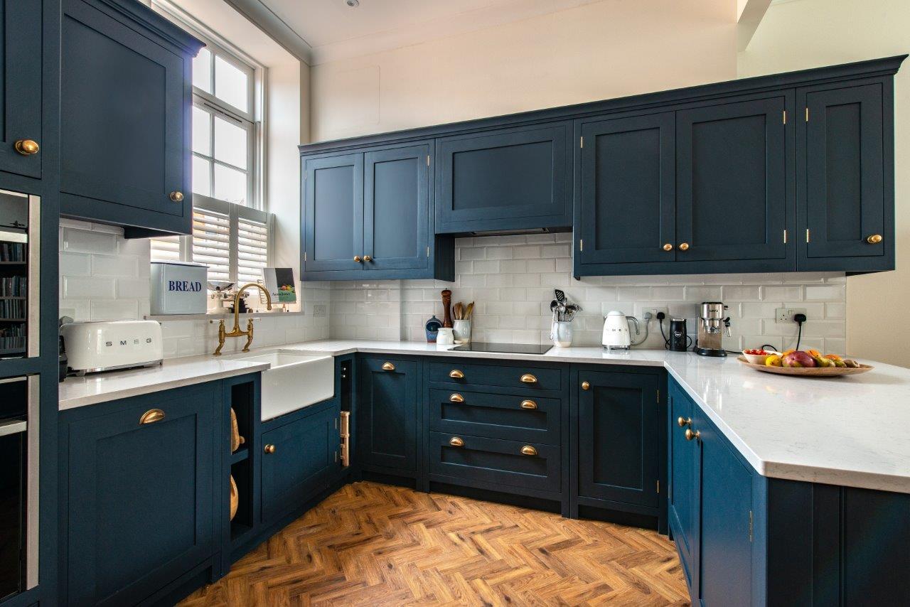 Old Windsor Kitchen Herringbone Kitchens