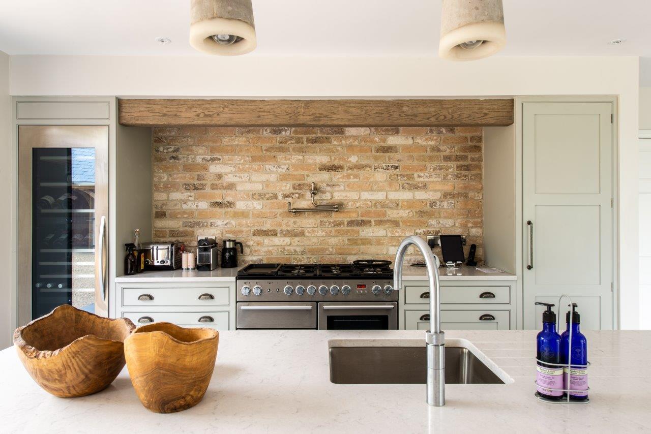 Exposed Brick Kitchen Herringbone Kitchens
