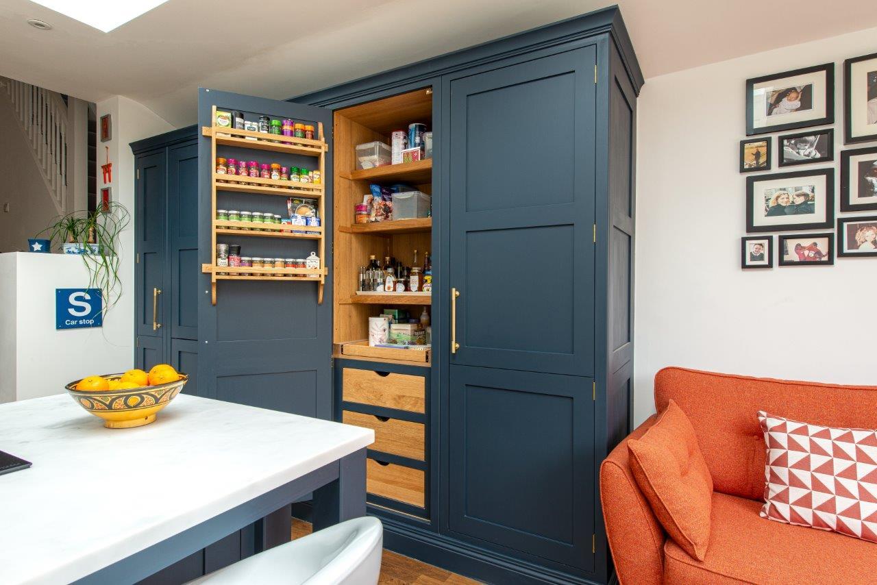Kitchen Trends The Rise Of Pantry Larders Herringbone Kitchens