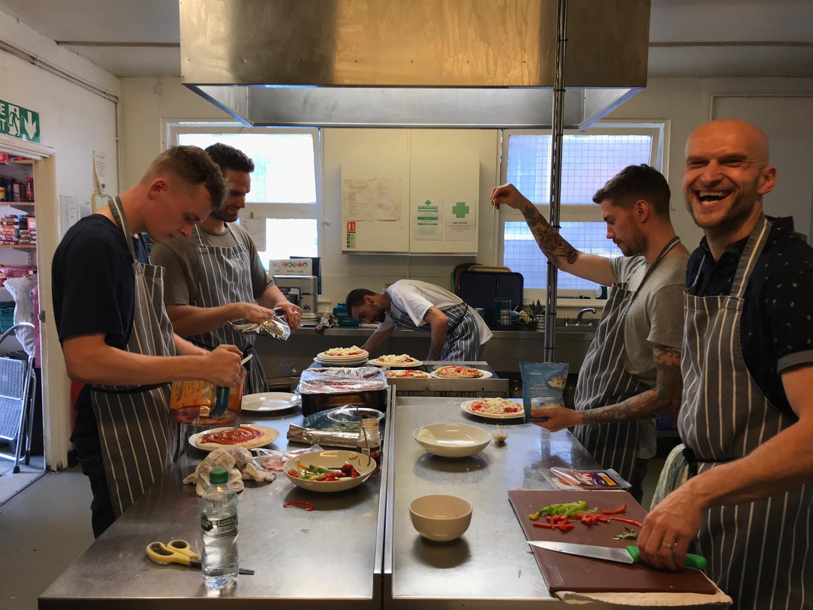 Herringbone Kitchens Catching Lives