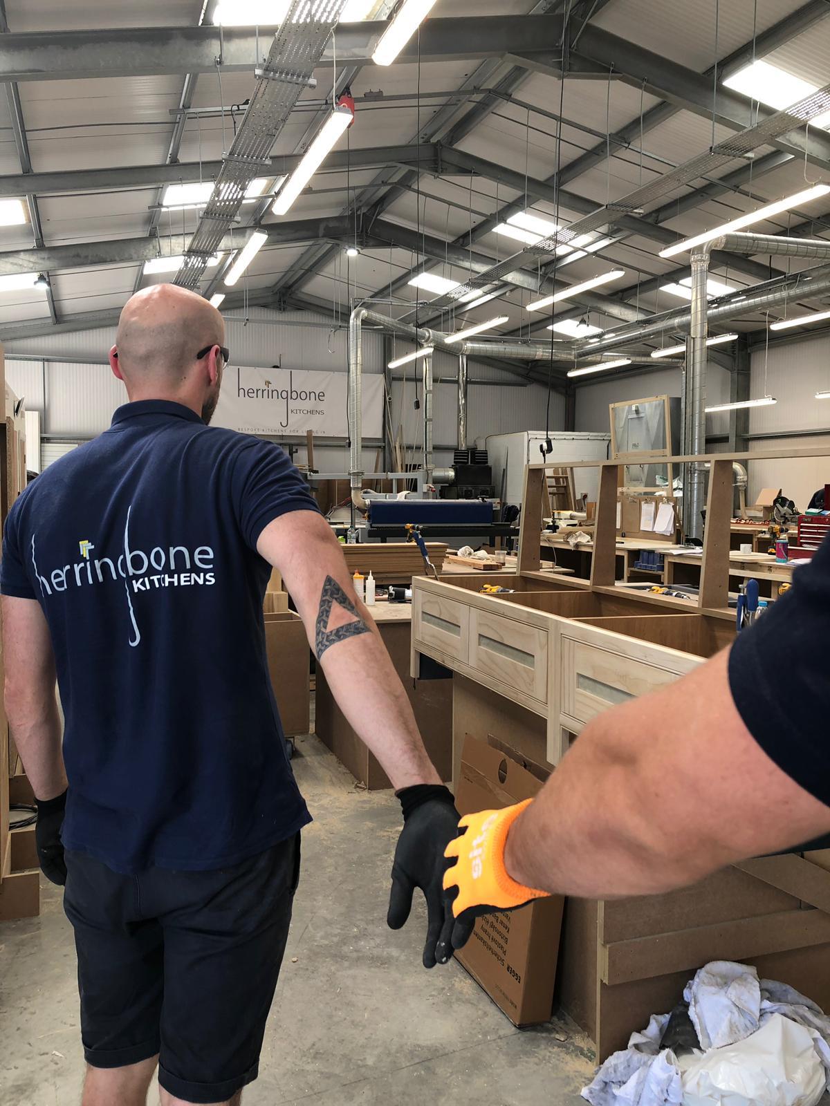 Herringbone Kitchens Join the Team