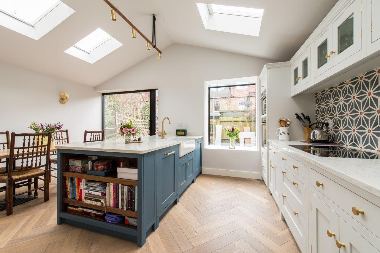 Kitchen Trends The January Blues Herringbone Kitchens