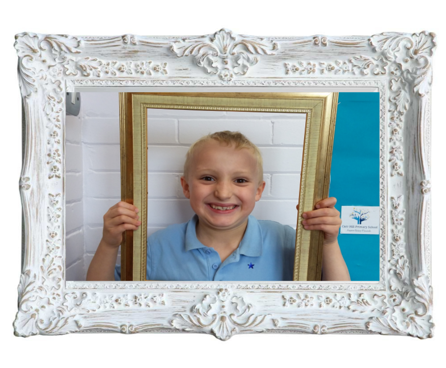 Cezary came to tell me how hard he has been working on his spellings. He has been working so hard at home and managed to learn them all this week. He is rightly very proud of himself. -