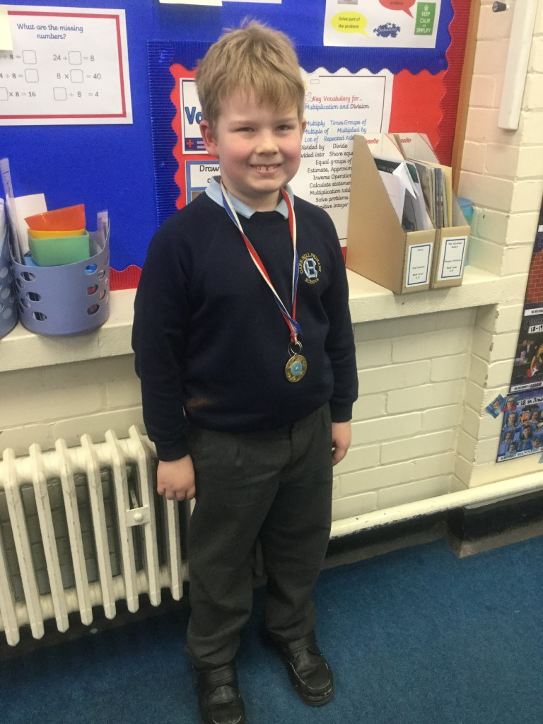 Our 'Champion of the Week' is Raymond who always tries his best and takes the time to explain his ideas and thinking clearly during class discussions. Well done Raymond! -