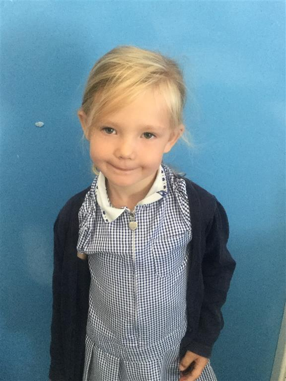 This week's English Star is Sapphire-Jane. She has been working extremely hard in Phonics, using her Phoneme-Fist really well and applying her learning. Her efforts in Phonics lessons are also excellent. -