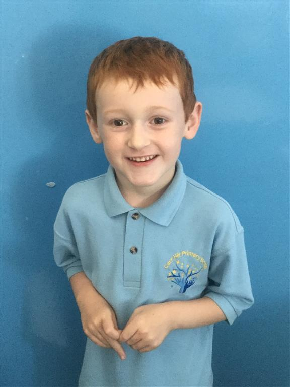 This week's English Star is Alfie. He has really been pulling out the stops in Phonic lessons and making lots of extra effort to go the extra mile. His extra efforts are really paying off and he's reaping rewards there.. -