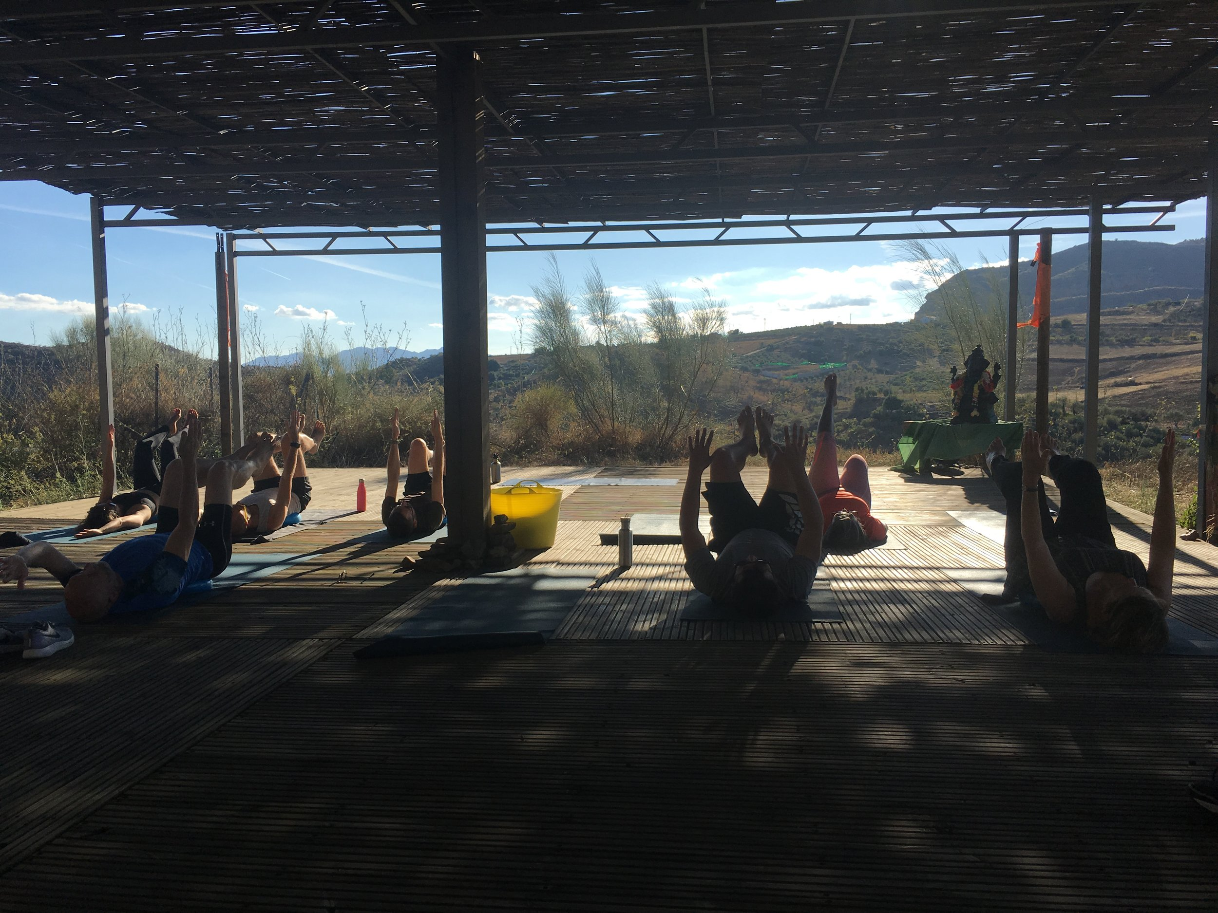 Yoga Deck at Valle De Vida