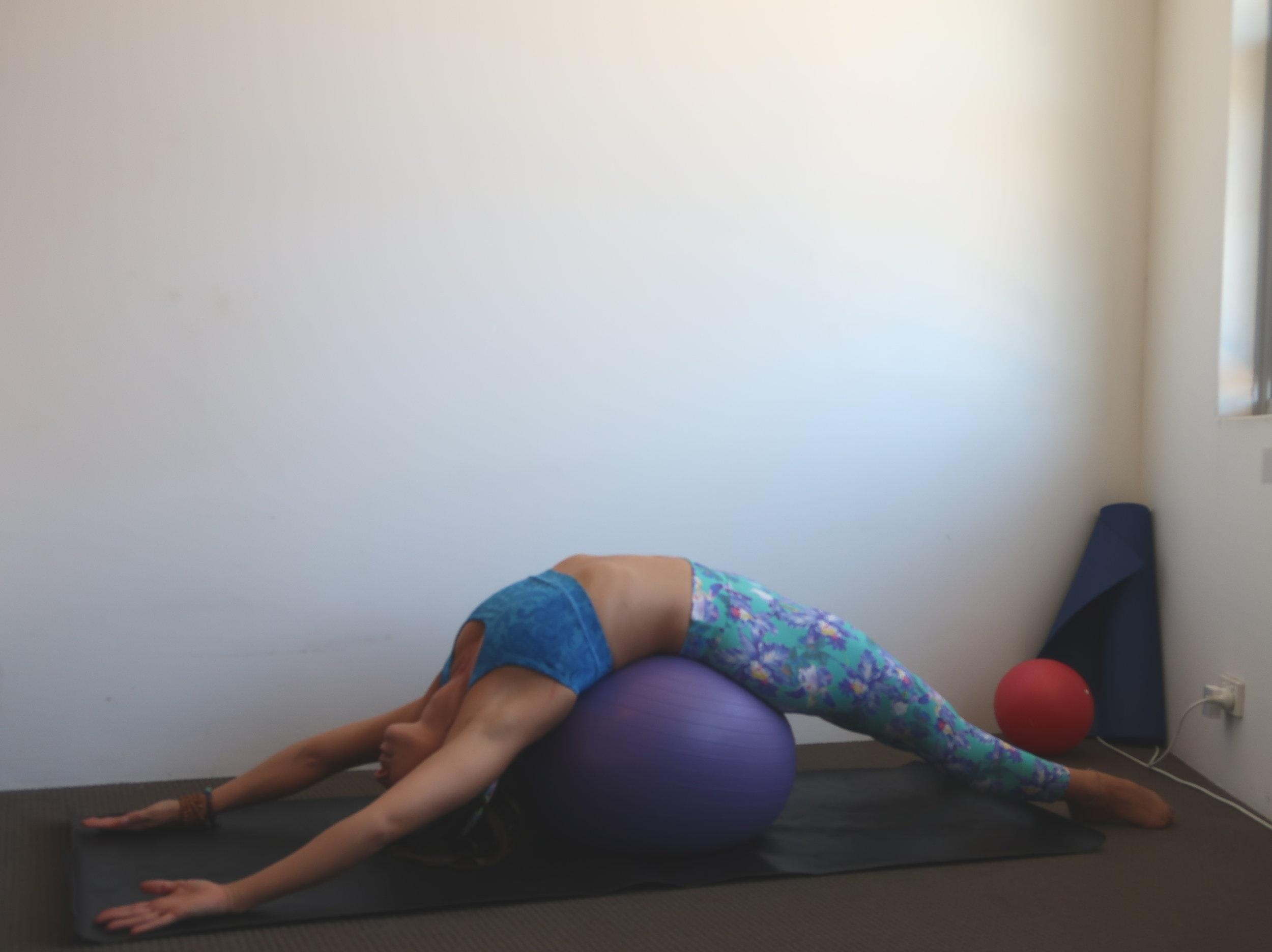 Backbend stretch x 30 seconds