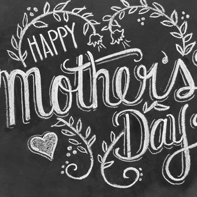 To the ones who work the hardest and love us the most #mothers #morningindustrie #mom #typography #industrieid #follow #foodies