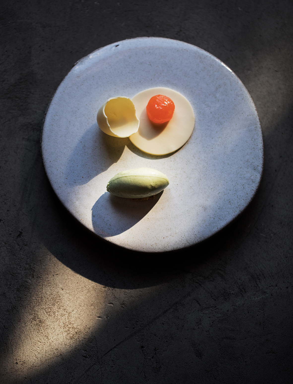 A very thick plate. Photo Lars Petter Pettersen.