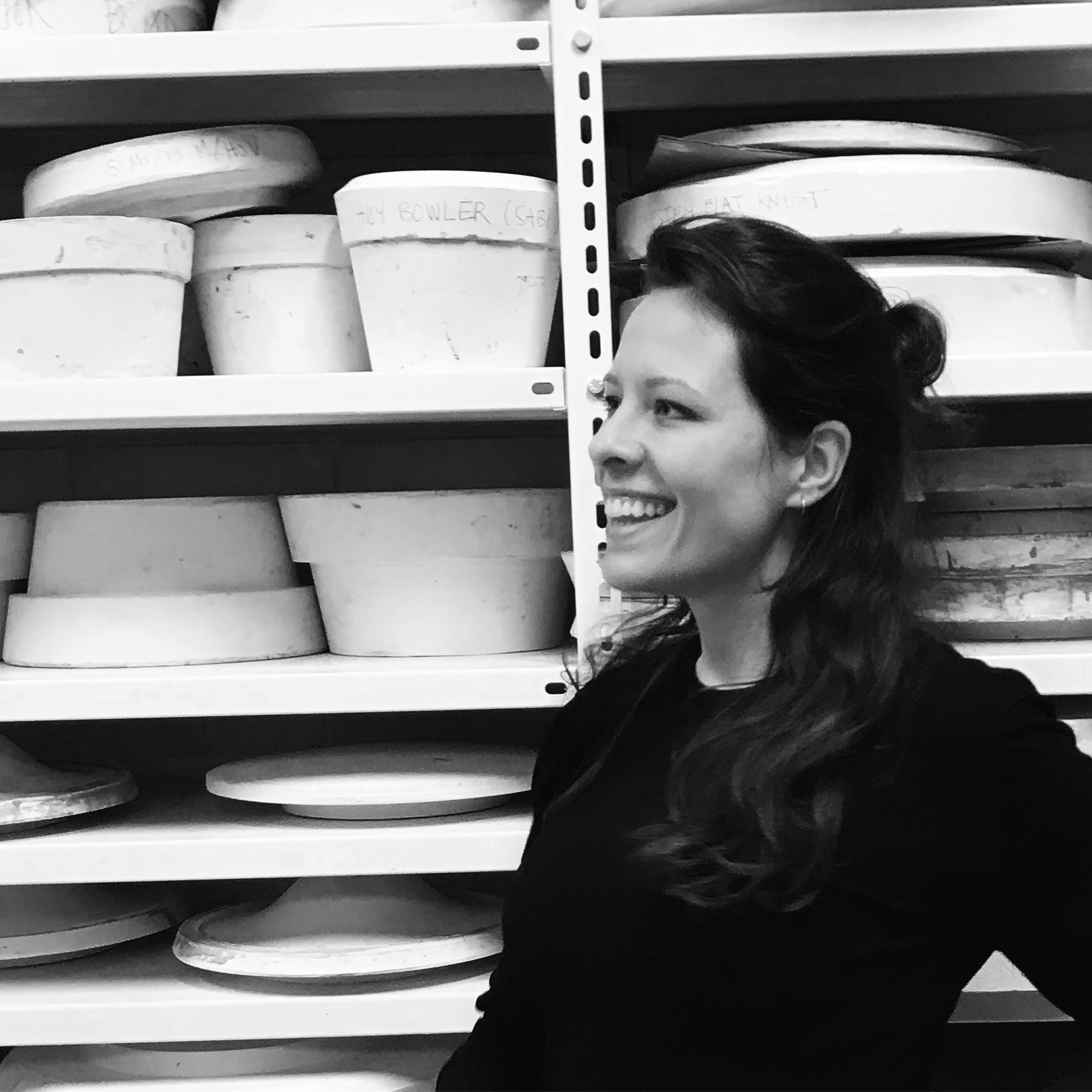 Natasza Grzeskiewicz  is a product designer specializing in ceramics, and our expert in plaster mould making. Works with us parts of the year.