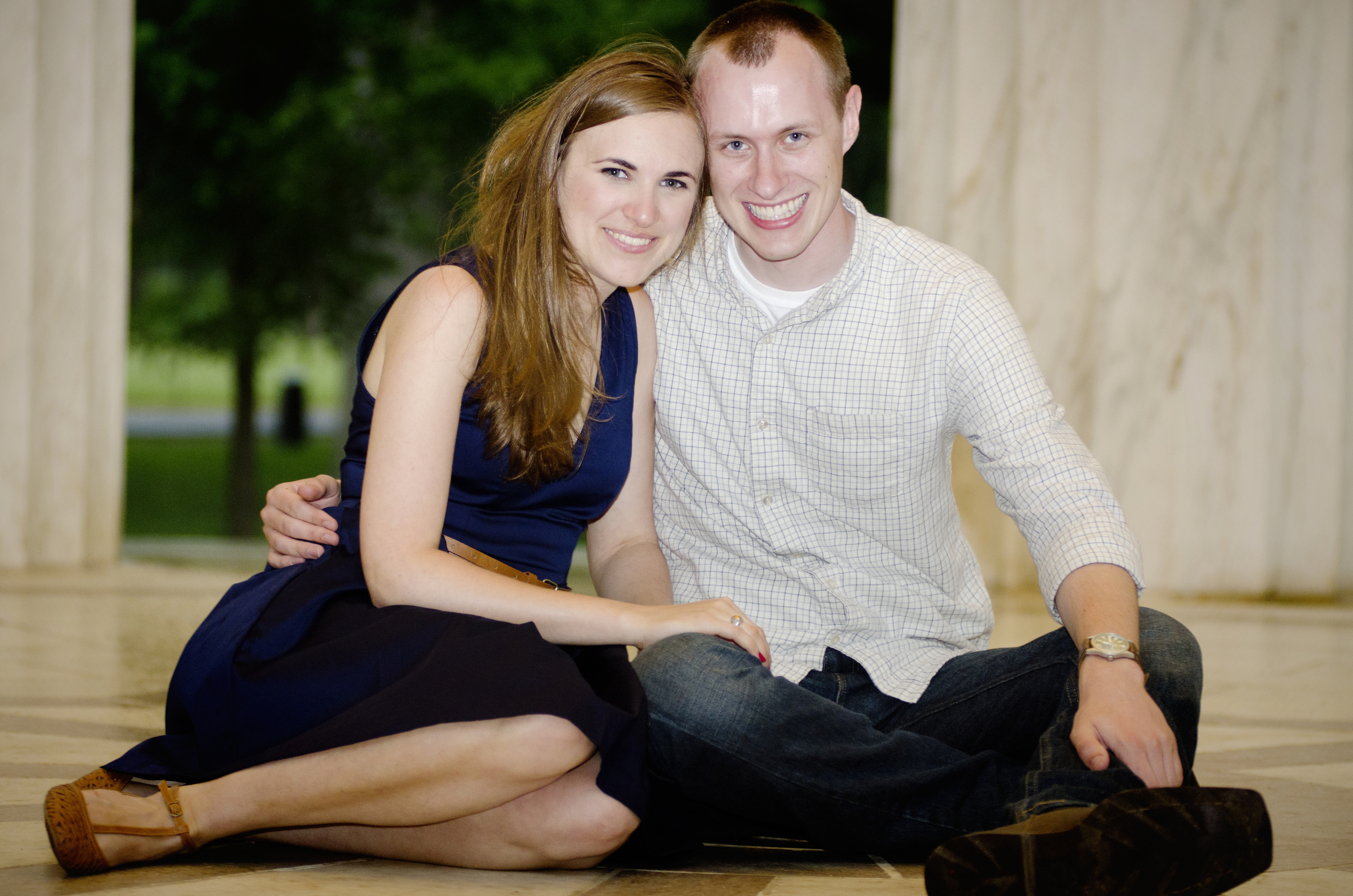 national mall engagement photo session ideas