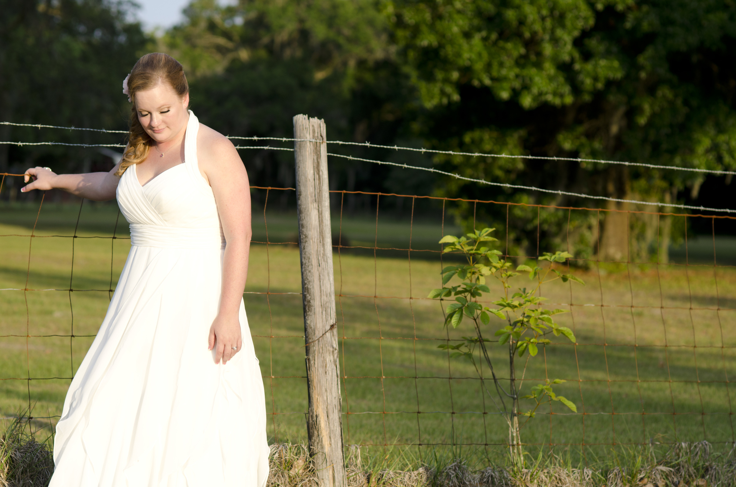 outdoor farm wedding - florida - wedding photographer