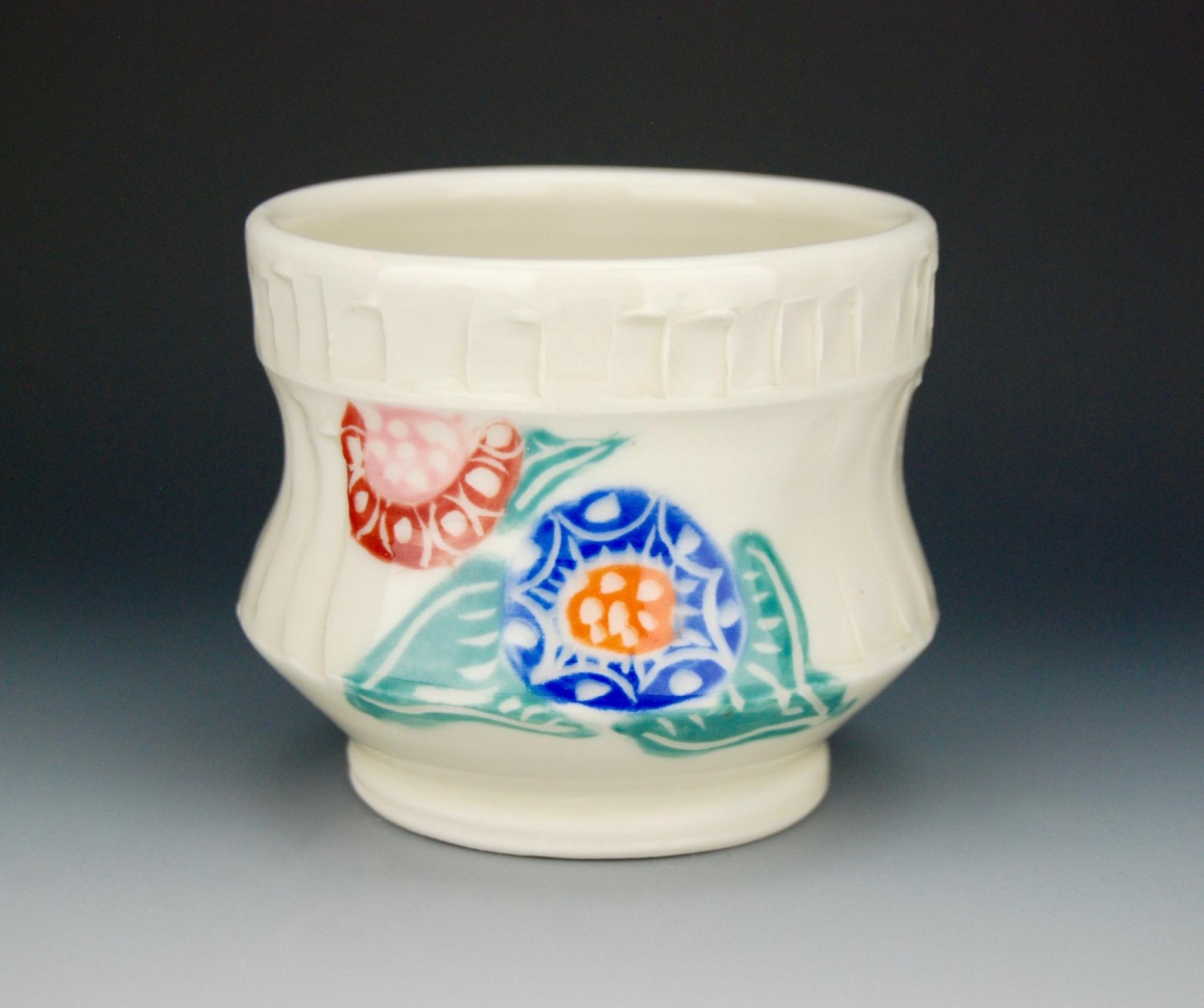 Floral yunomi