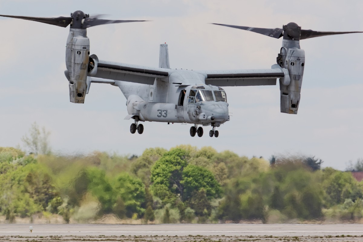 US Marine Corps MV-22 Osprey