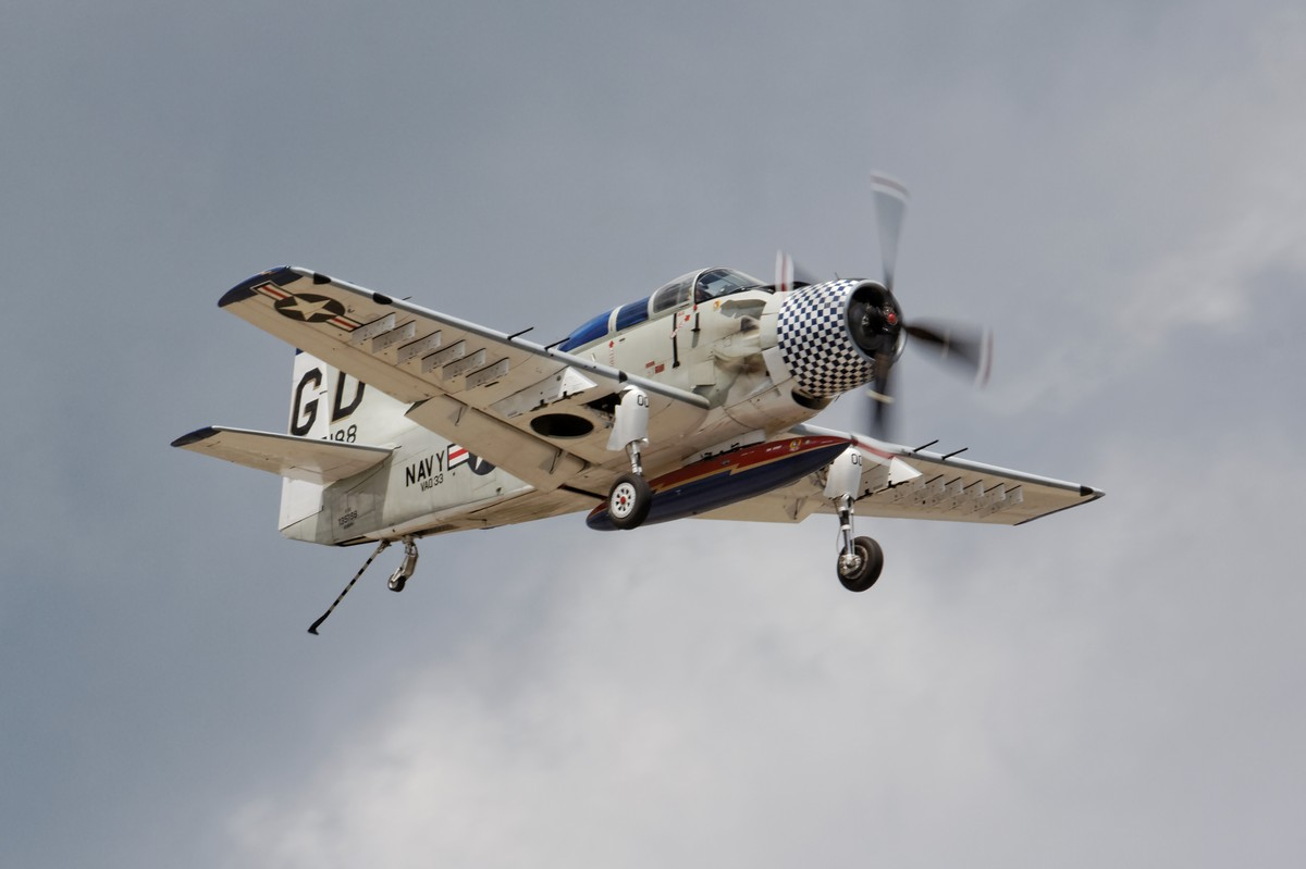 Douglas A-1E Skyraider - Collings Foundation