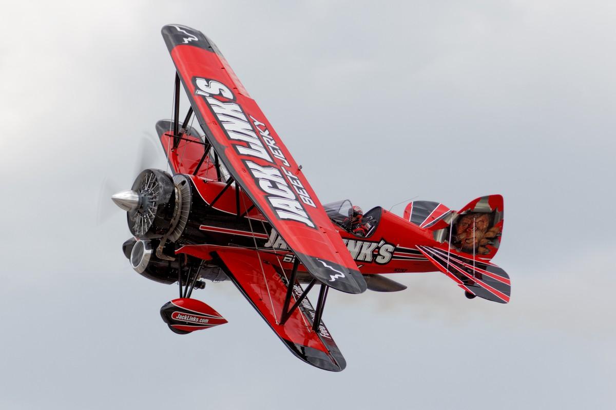 """Jack Link's Jet WACO """"Screamin' Sasquatch"""""""