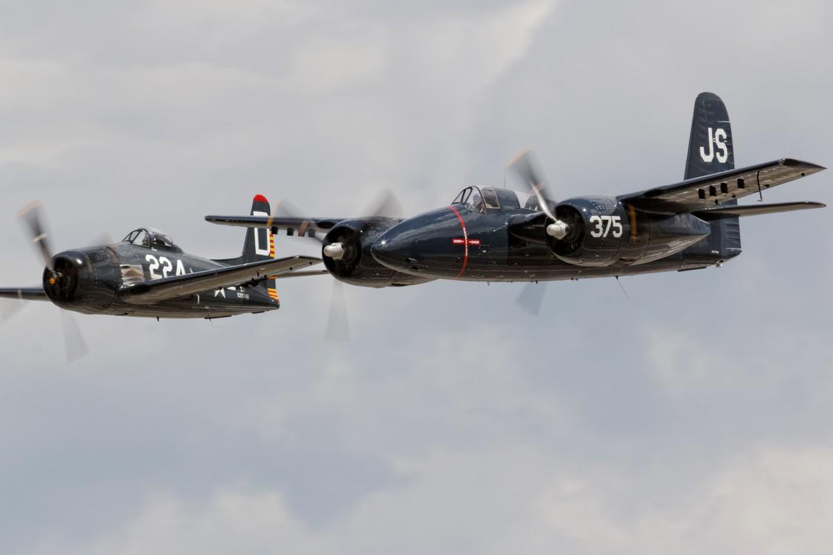 The Horsemen - Grumman F7F Tigercat and F8F Bearcat