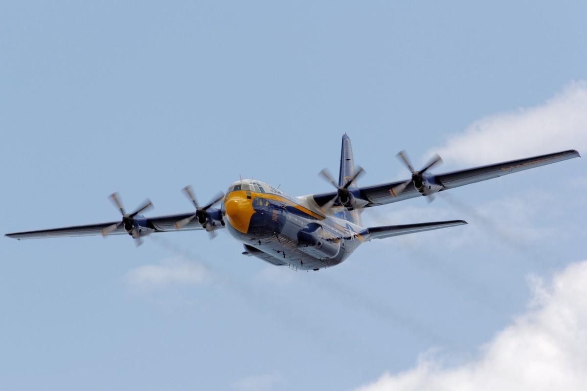 """Blue Angels' C-130T """"Fat Albert"""""""