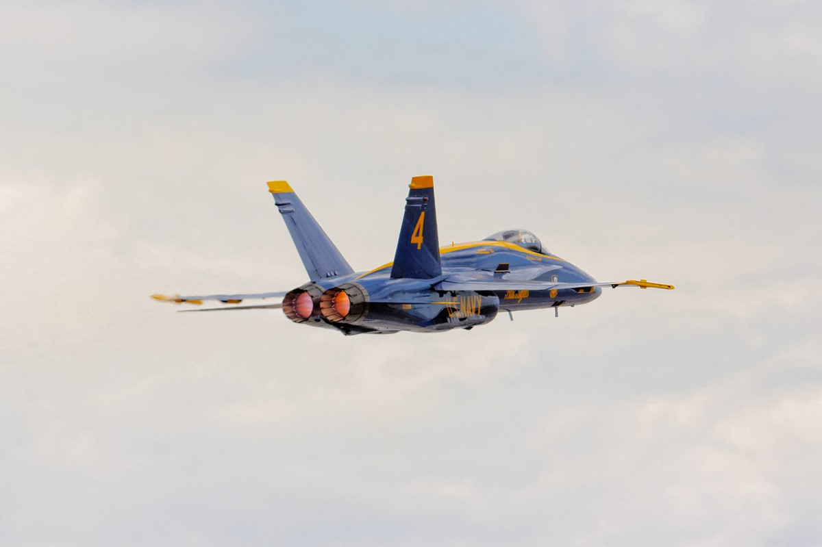 USN Blue Angels F/A-18 Hornet
