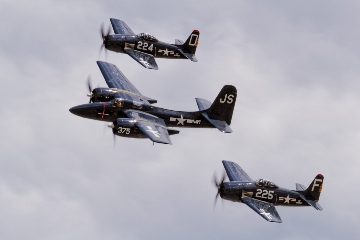 The Horsemen - Grumman F7F Tigercat and F8F Bearcats