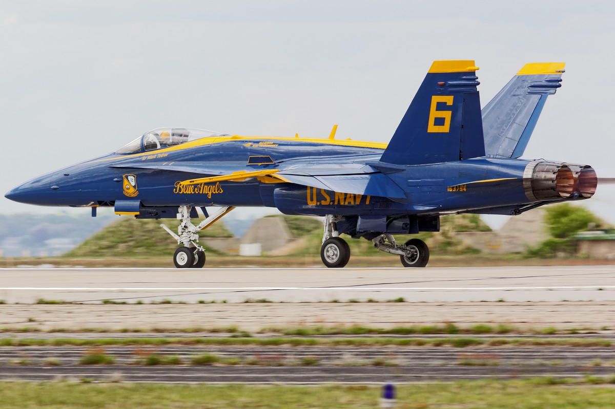 USN Blue Angels F/A-18 Hornet
