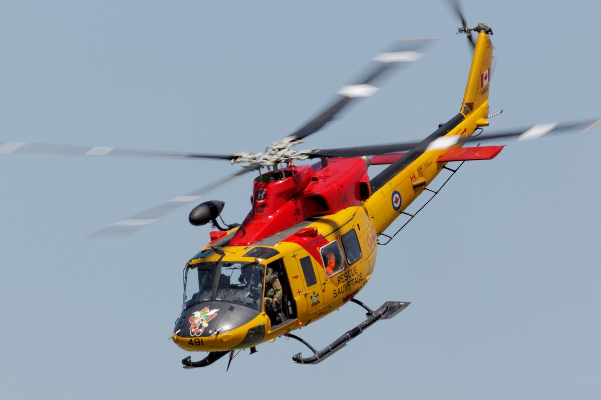 RCAF CH-146 Griffon of 424 Transport and Rescue Squadron
