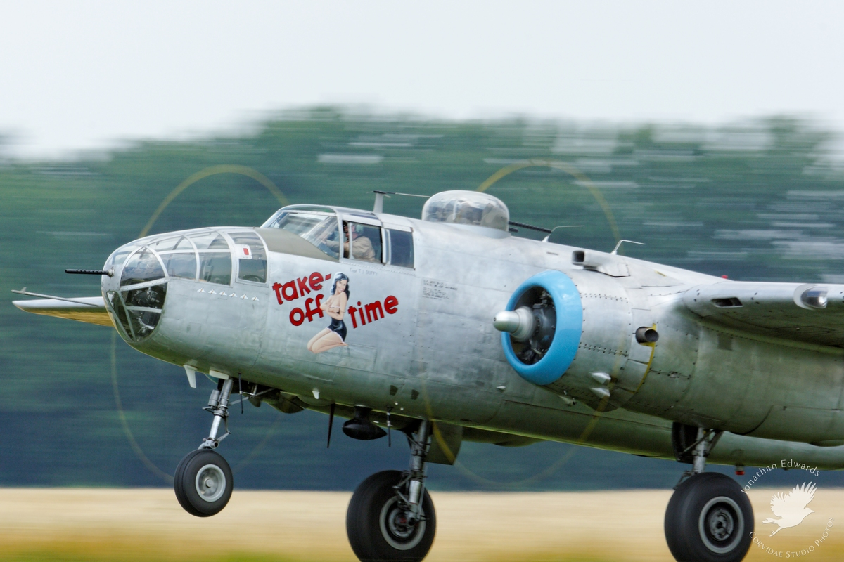 "B-25J Mitchell ""Take Off Time"""