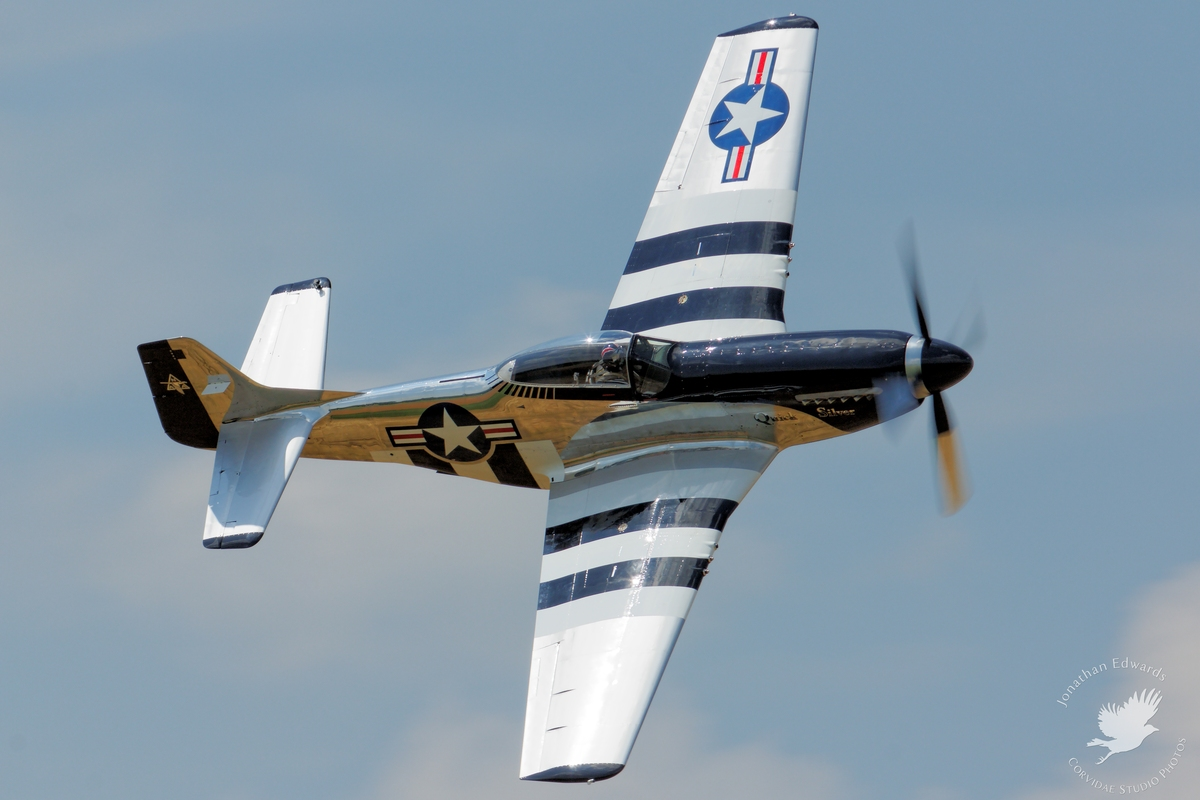 "P-51D Mustang ""Quick Silver"""