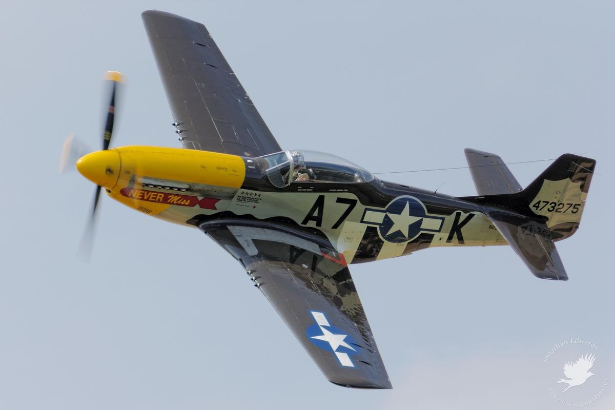 "P-51D Mustang ""Never Miss"""