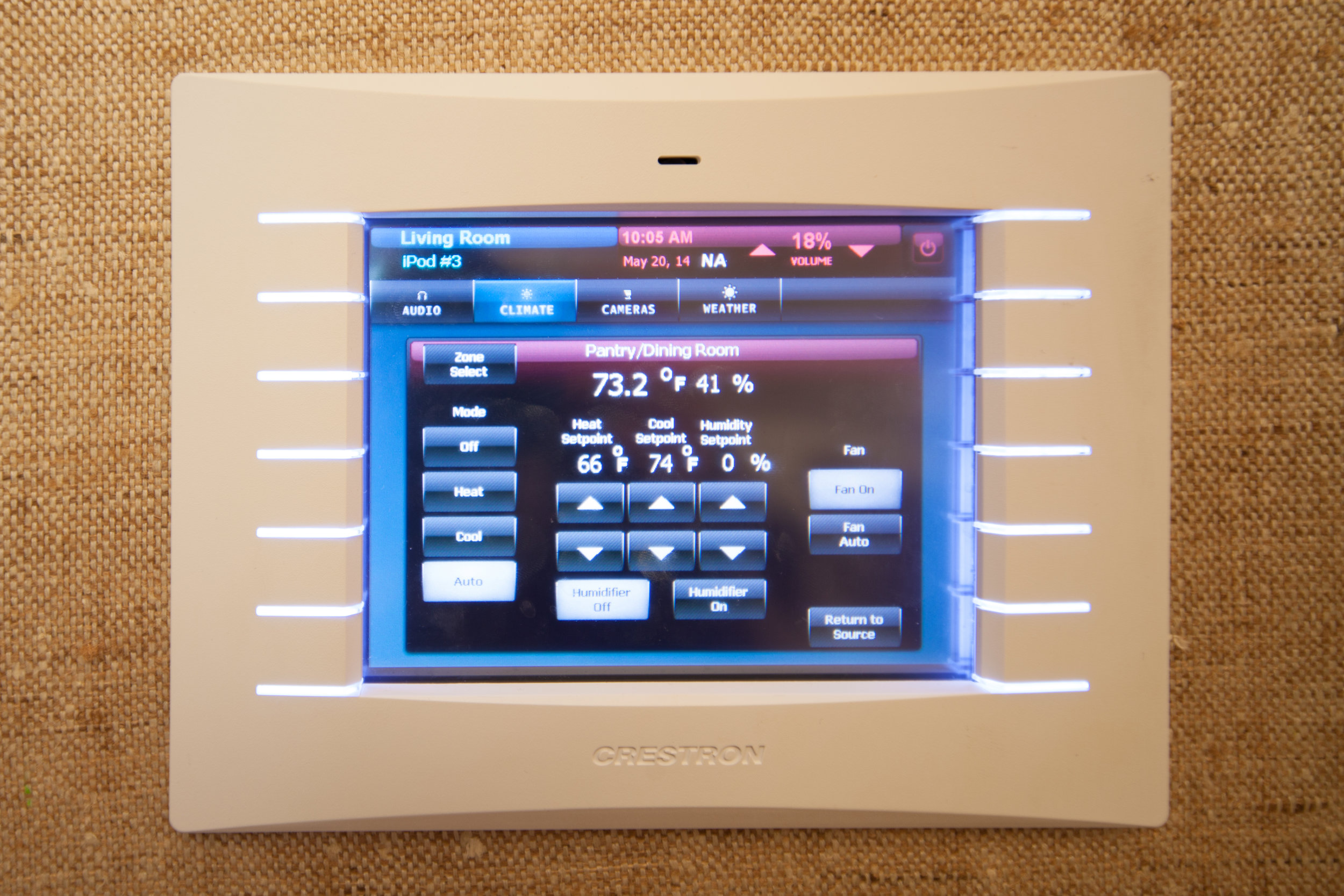 Customized control for accurate and tailored temperature and humidity levels for each resident's comfort.