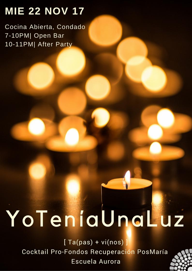 YoTeníaUna Luz- flyer.png