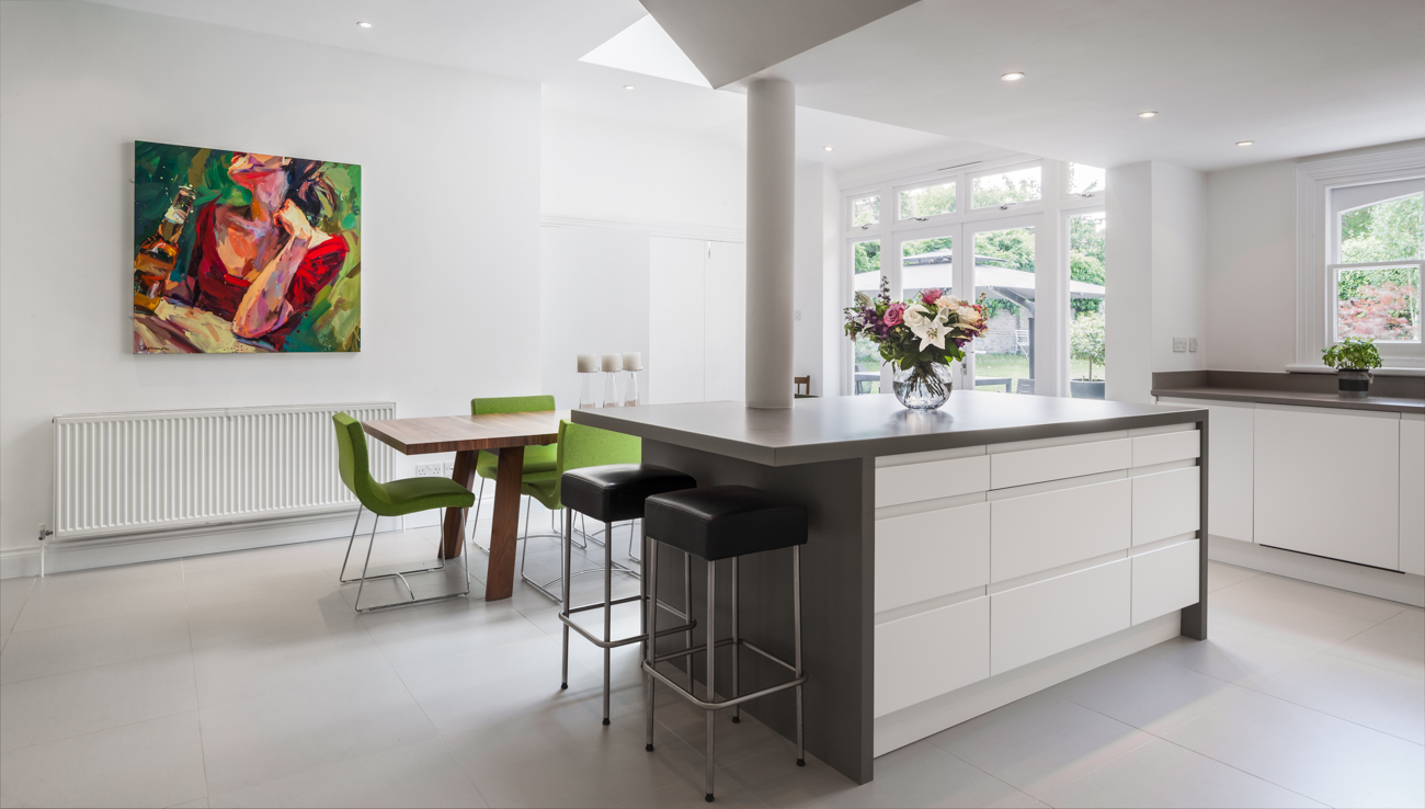 Kitchen Interior photograph WJP
