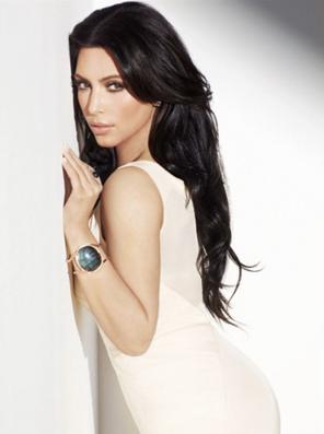 Kim Kardashian in Parulina cuff.