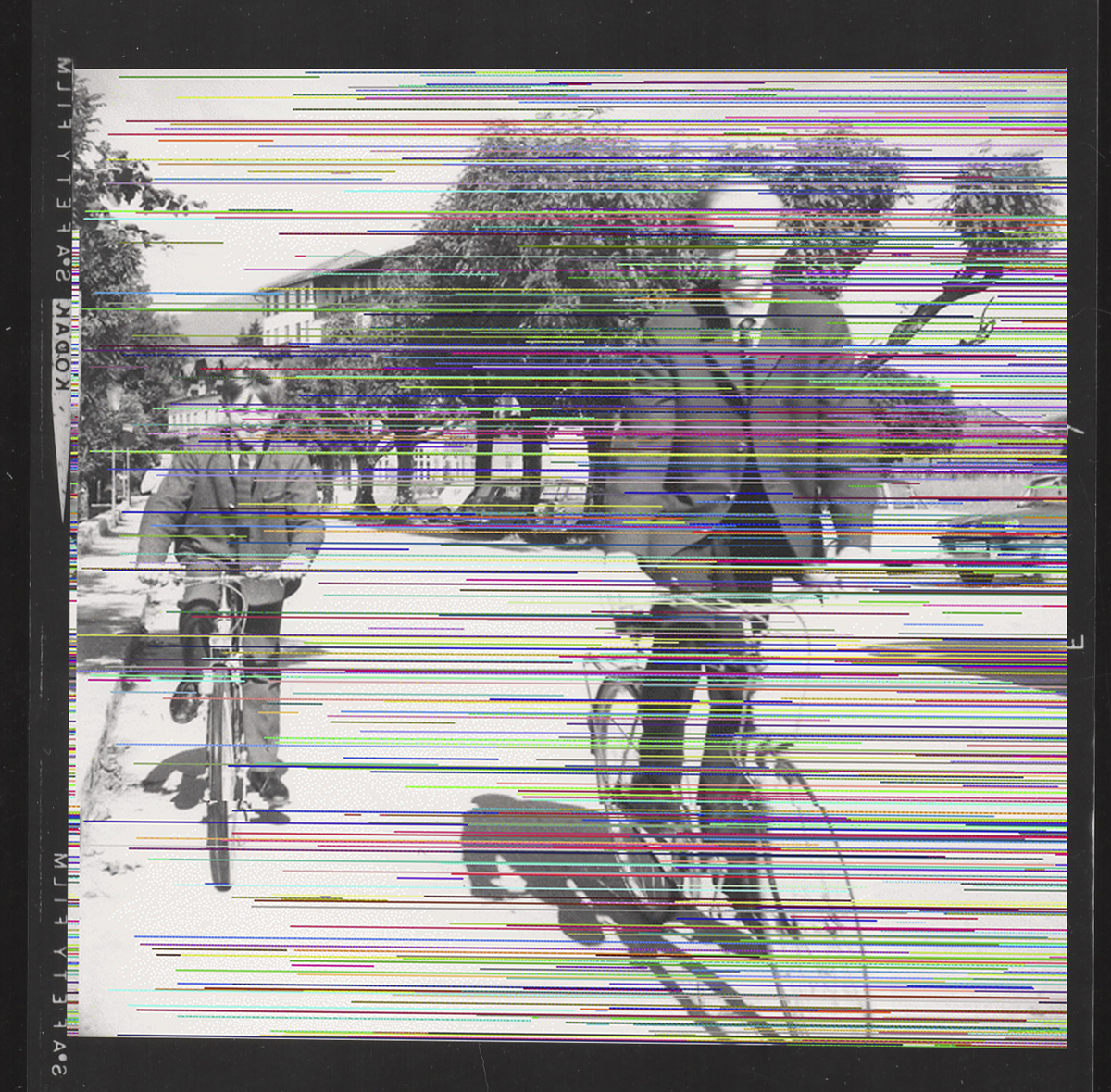 Untitled (boys riding bikes), 2013.