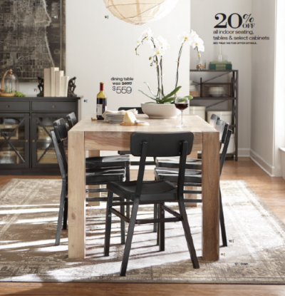 Edmond Dining Table, Jacob Chairs