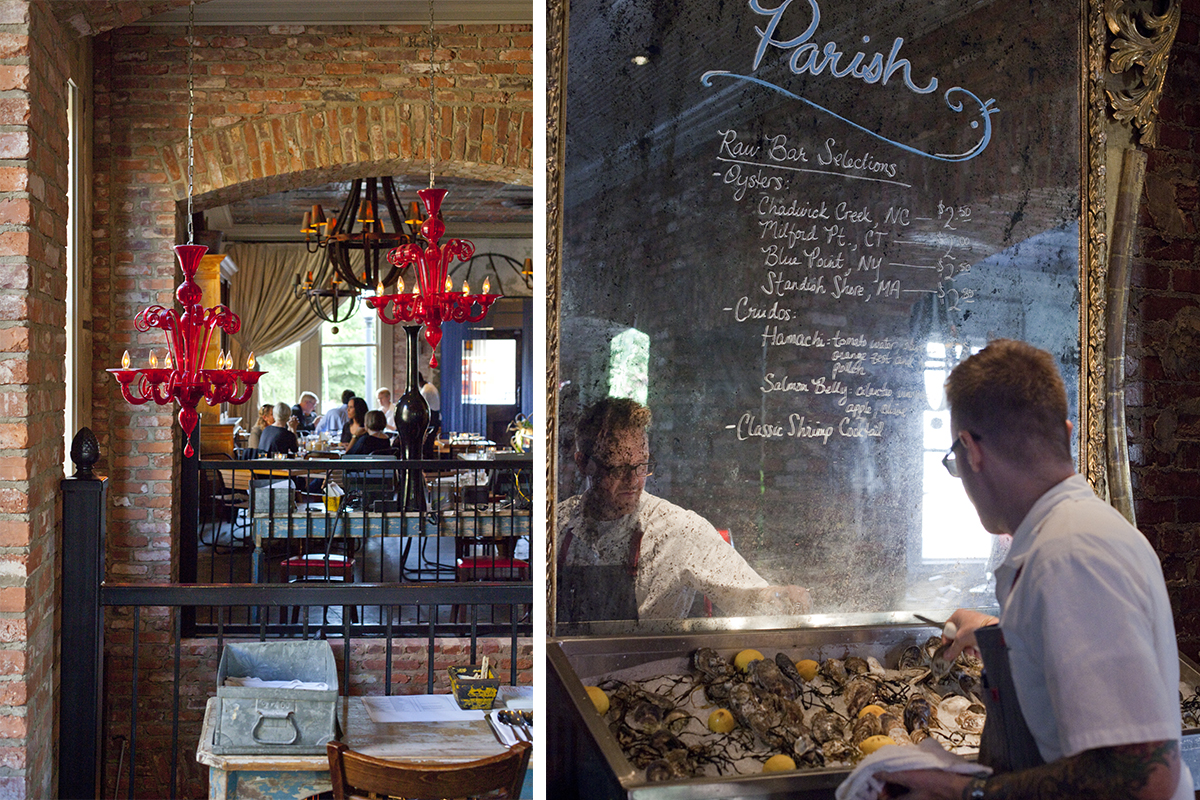Spotlight On: Parish Restaurant