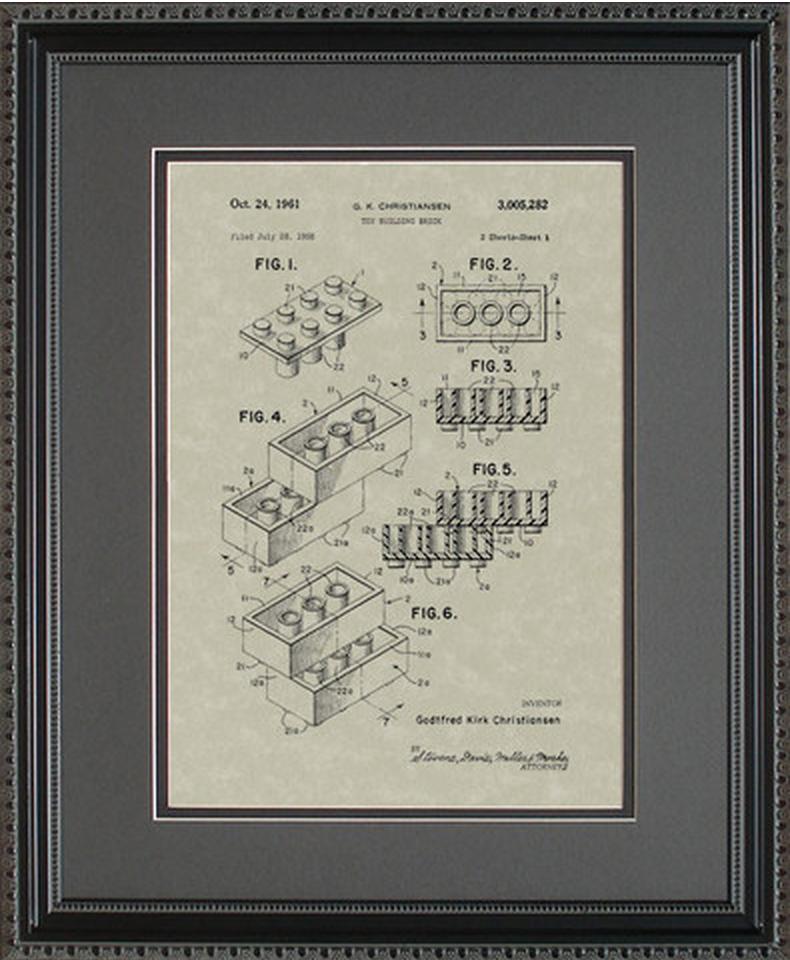 LEGOS Patent Artwork