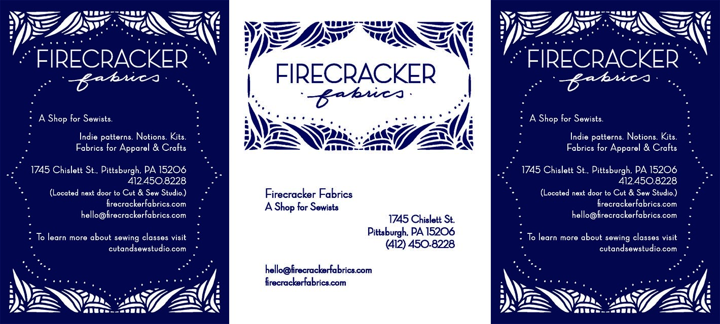 FIRECRACKER FABRICS Marketing Materials