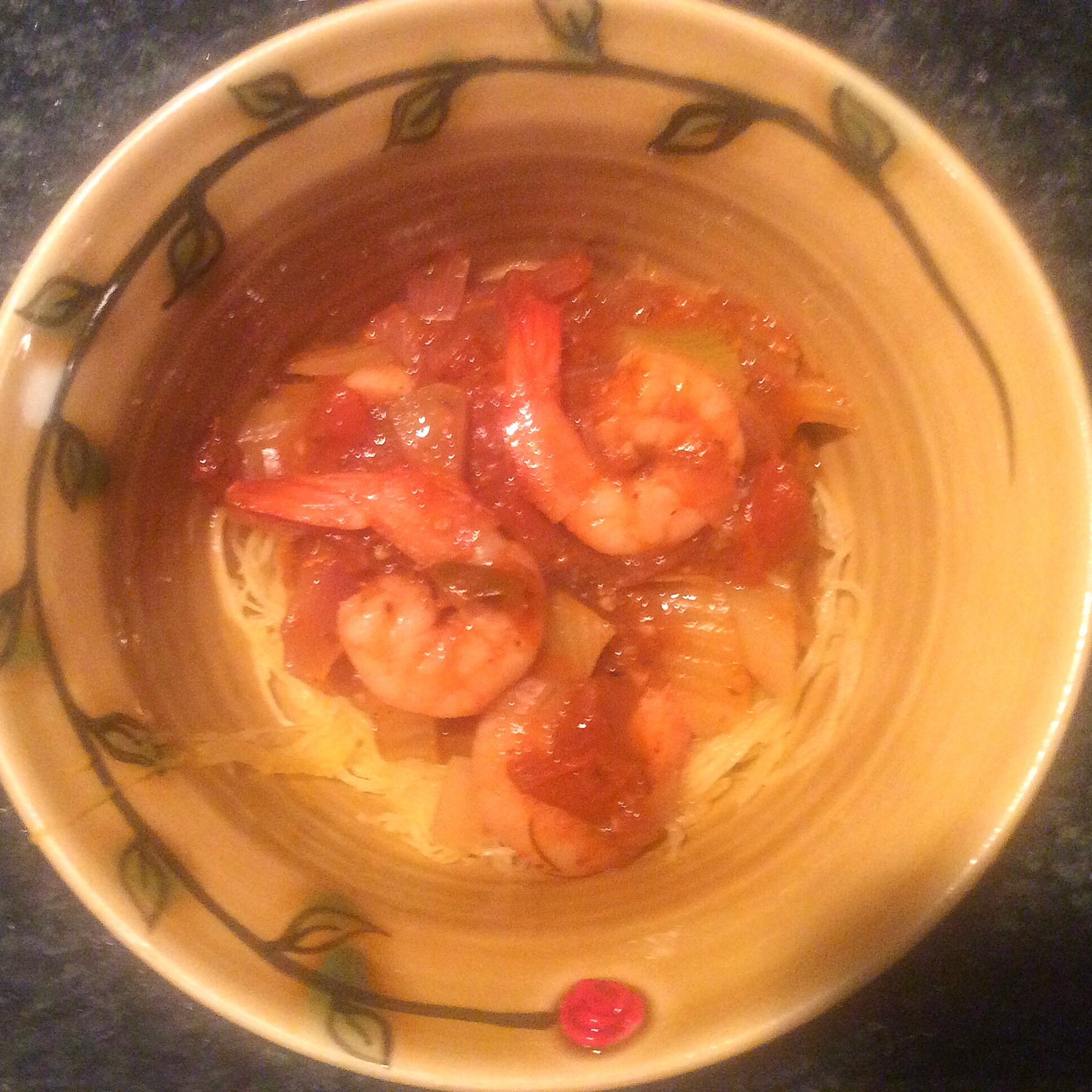 Saucy Shrimp with Tomatoes & Fennel