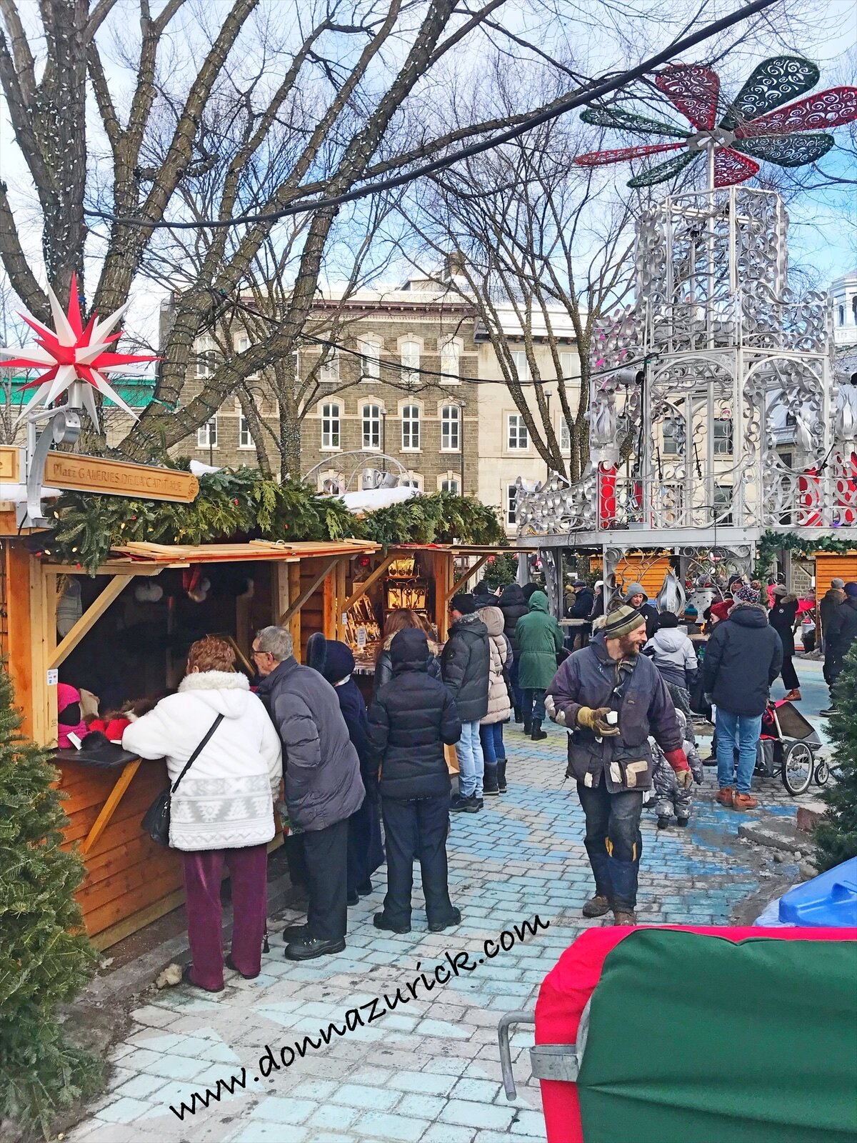 Christmas Markets in Quebec City.