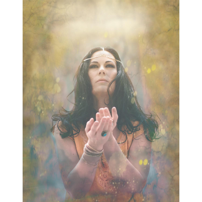 en fantasibearbetning för att följa den spirituella tanken och dölja att jag inte var riktigt nöjd med ljuset, haha..