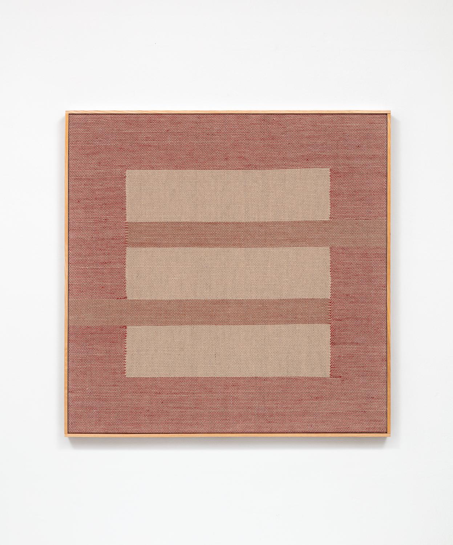 Untitled (Madder Stripes)