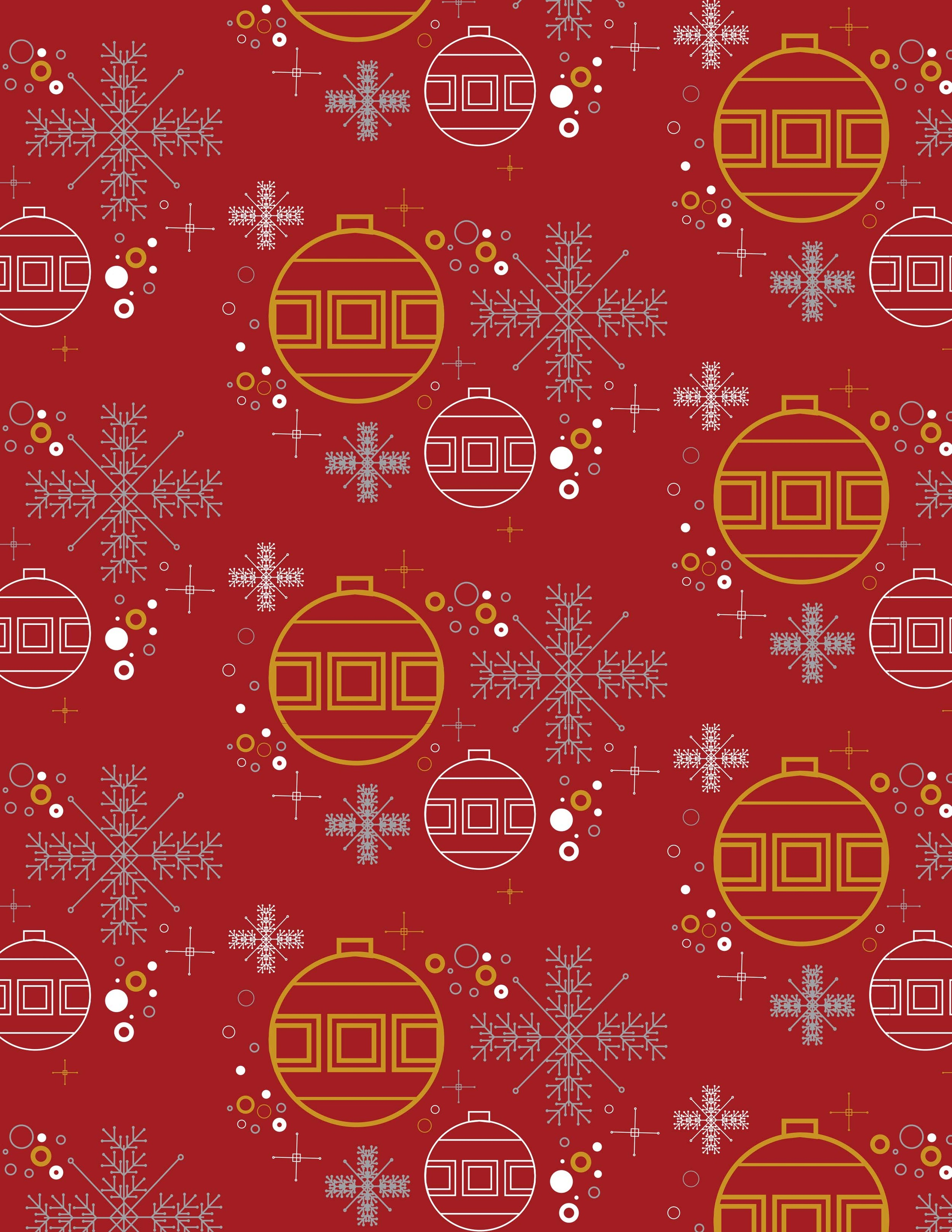 Festive Pattern by John Bucher