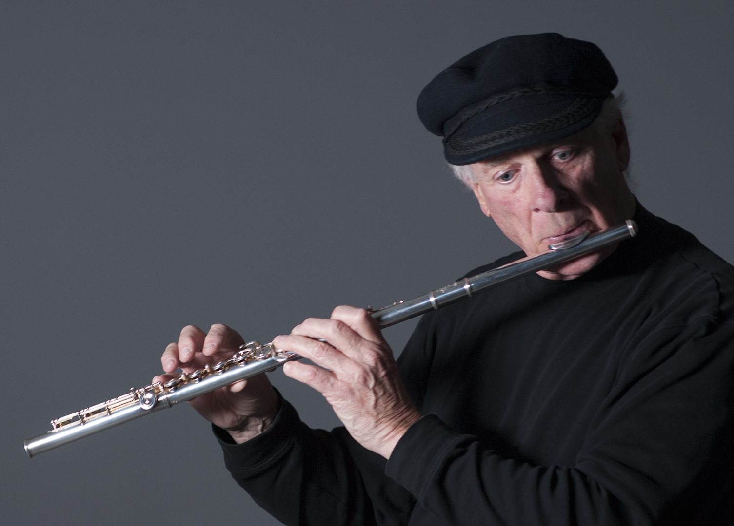 Doug Wicken on flute.