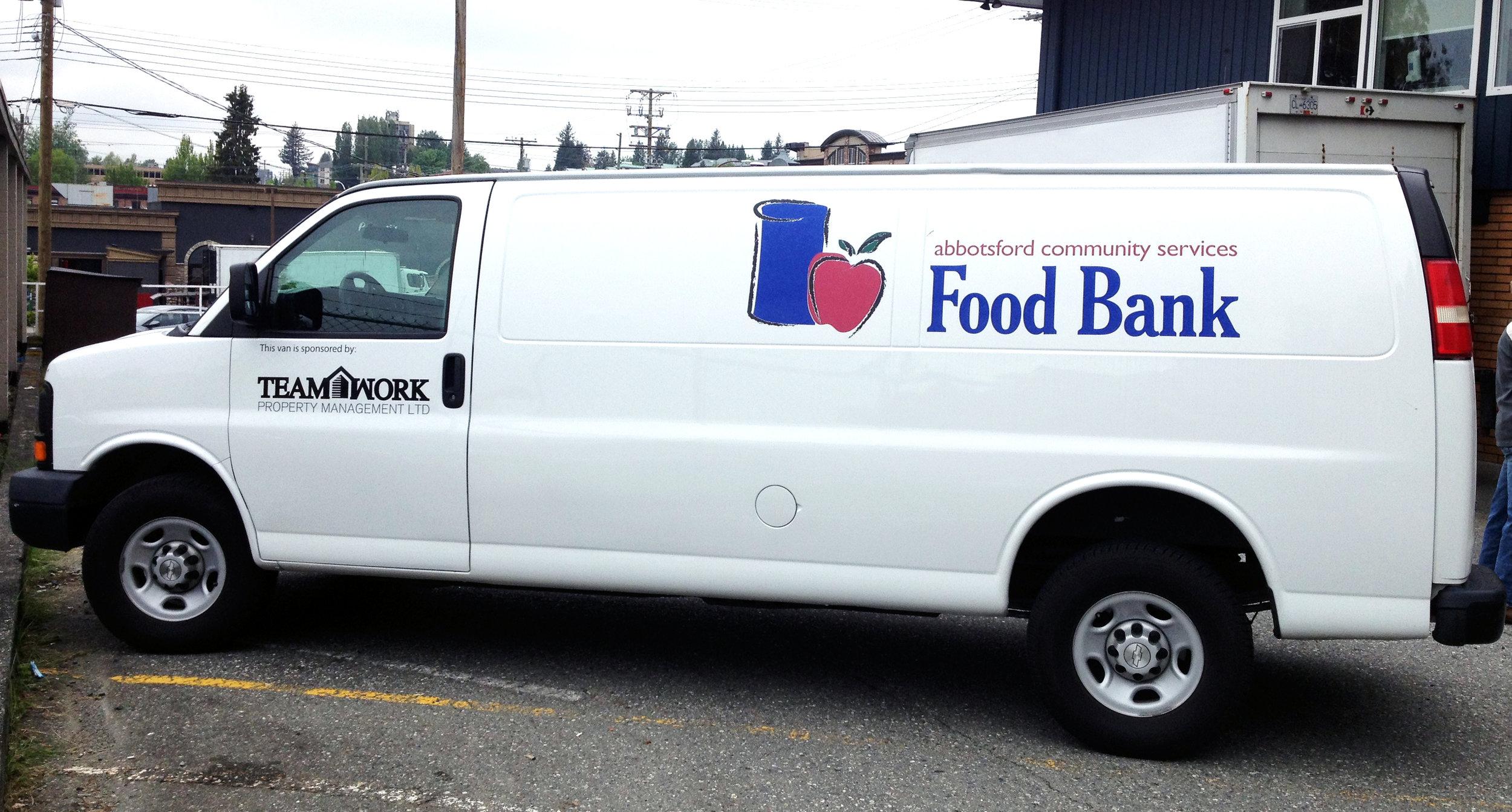 Abbotsford Community Services Food Bank van