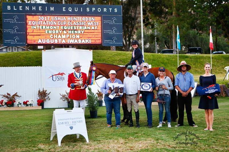 Vanderpump & Augusta Iwasaki along with the Makoto Farms crew during the awards ceremony