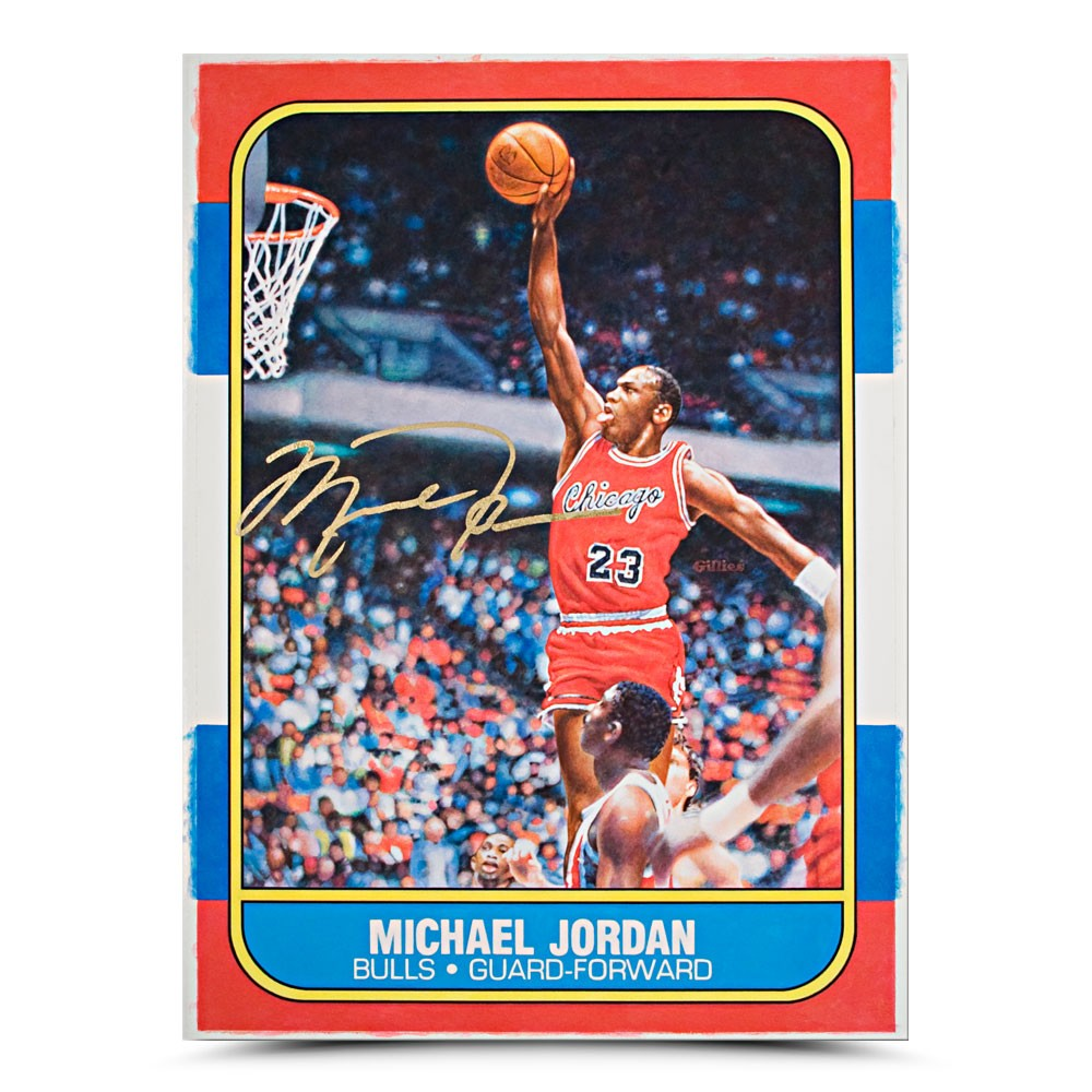 A Michael Jordan rookie card is considered one of the great blue chip sports cards out there. Same with the Ken Griffey Jr from the1989 Upper Deck set
